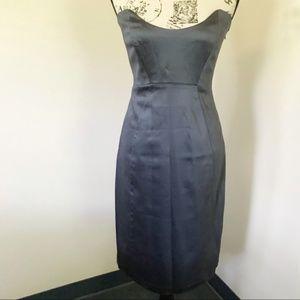 Laundry Shelli Segal Blue Formal Cocktail Dress